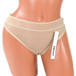 DKNY Intimates Women's Signature Fishnet Thong